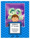 Go Math 3rd Grade Vocabulary Crossword Puzzles