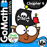 Go Math! Chapter 4 Centers for KINDERGARTEN!