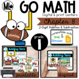 Go Math! Chapter 8 Centers for First Grade