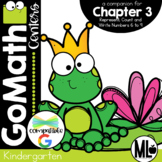 Go Math! Chapter 3 Centers for KINDERGARTEN!