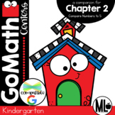Go Math! Chapter 2 Centers for KINDERGARTEN!