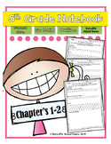 Test Prep Go Math! Notebook 5th Grade CC and I Can Stateme
