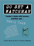 Go Set a Watchman Novel Unit Common Core and Differentiated