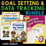 Goal Setting and Data Tracking Journal Combo