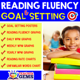 Reading Fluency & Goal Setting Posters, Charts & Graphs