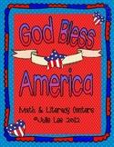 God Bless America Math and Literacy Unit