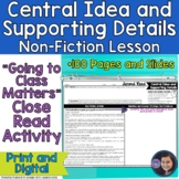 Going to Class Matters?: Close Read Activity to Determine