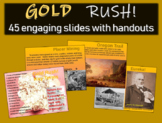 Gold Rush! Highly visual, informational, interactive 45-sl