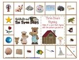 Goldilocks and the Three Bears Rhyming Game