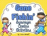Gone Fishin' Synonym Activities {FREEBIE}