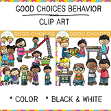 Good Choices Clip Art