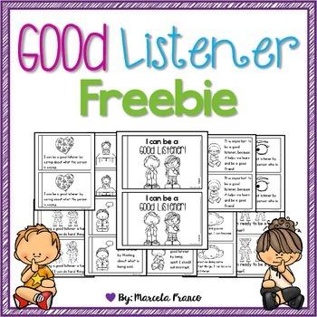 Be a Good Listener Little Reader