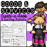 Goods and Services Book - Create a Picture Book and Sortin