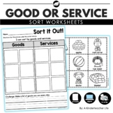 Goods and Services sort Sort it out