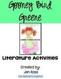 Gooney Bird Greene Literature Activities