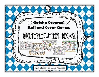 Gotcha Covered: Multiplication Rocks! (Roll and Cover Game)
