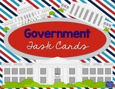 Government Task Cards Scoot Game