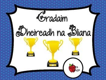 Gradaim Dheireadh na Bliana as Gaeilge // End of Year Awar