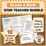 Grade 4 Math STAR TEACHER BUNDLE (Communication, Review, T