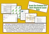 Grade Five Common Core Lesson Pack
