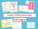Grade One Common Core Lesson Pack - Designer Dots