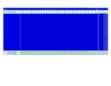 Gradebook Template in Excel