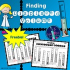 Graduated Cylinders & Displaced Volume (Irregular Shaped O