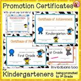 Graduation Certificates - Kindergarten