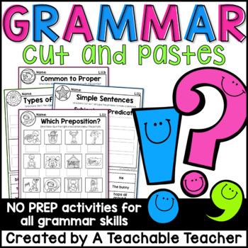Grammar - First Grade