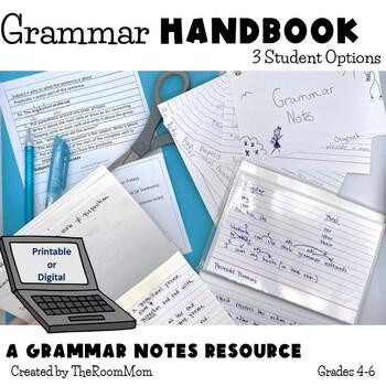 Grammar Flip Chart, Parts of Speech, Simple and Compound Sentence