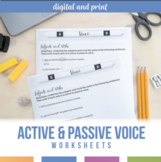 Active and Passive Voice in Verbs