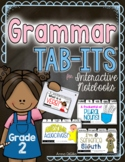 Grammar Tab-Its for Interactive Notebooks  Grade 2