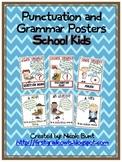 Grammar and Punctuation Posters School Kids