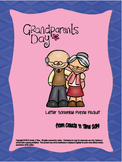 Grandparents Day Letter Scramble Puzzle Packet with Key