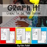 Graph It! - Graphs for Math Journals