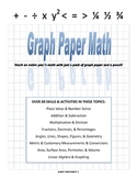 Graph Paper Math - Linear Algebra and Slope Intercept Form