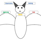 Graphic Organizer - Bat theme