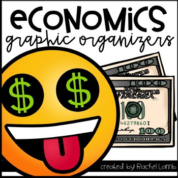 Graphic Organizers for Teaching Little Economists pack