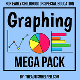 Graphing Mega Pack for Early Childhood or Special Education