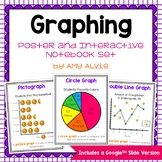 Graphing Posters and Interactive Notebook Set