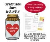 Gratitude Jars Typing Activity (Gr. 5-8)