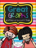 Great Graphs {A Primary Graphing Unit} - 5 Math Centers
