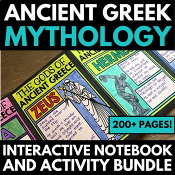 Greek Mythology: Interactive Notebook Unit