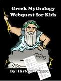 Greek Mythology Webquest for Kids (Great Website)