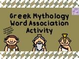 Greek Mythology Word Association Activity