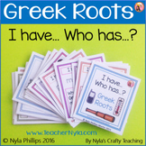 Greek Roots Game