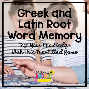 Greek and Latin Root Word Memory