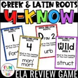 Greek and Latin Roots Game