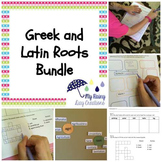 Greek and Latin Roots Worksheets, Quizzes, and Word Walls