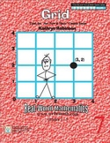 Coordinate Grid Worksheets | Math Centers | 3rd, 4th, 5th Grade